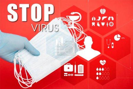 rot illustration ausruestung erwachsene gesundheit medizin