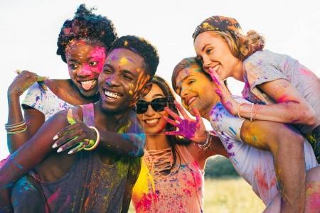Spaß, Bunt, Feier, Festlich, Glücklich, Urlaub - B160201640
