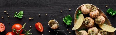 Tisch, Hintergrund, niemand, Frisch, Kräuter, Lebensmittel - B320406098