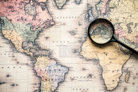 niemand, Reise, Reisen, Retro, Jahrgang, Welt - B195224462
