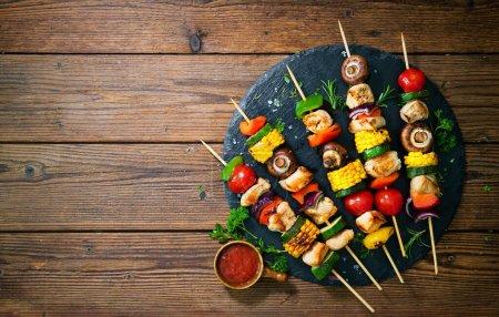 Hintergrund, frisch, Fleisch, Lebensmittel, Holz, Kochen - B377032418