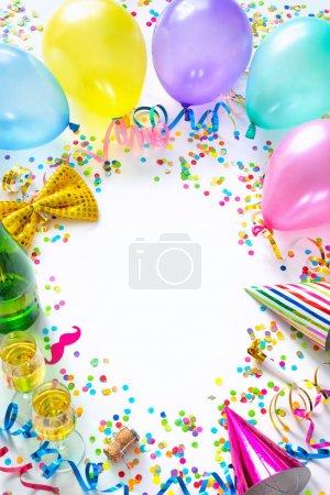 Spaß, weiß, Hintergrund, Geschenk, Glas, isoliert - B328109152