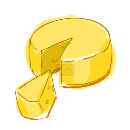 Farbe, Bild, gelb, weiß, Vektor, Runde - B127275516