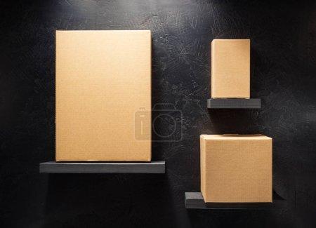 Tisch, weiß, Objekte, Hintergrund, Ansicht, klein - B156583276