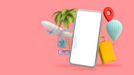 gelb, weiß, Objekt, Design, Tasche, Urlaub - B374866976