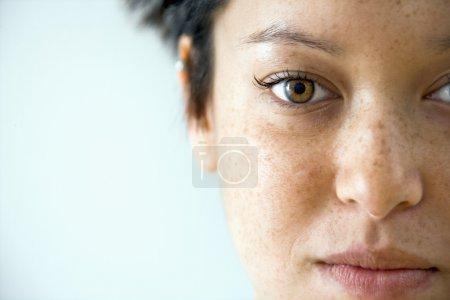 Farbe, horizontale, Nahaufnahme, Person, Weiblich, jung - B9309629