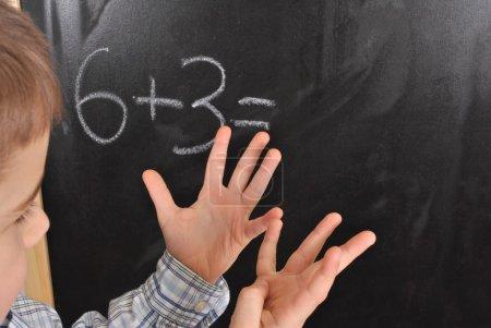 Zahlen, Vorstand, Kind, Familie, Junge, Kindheit - B9462144