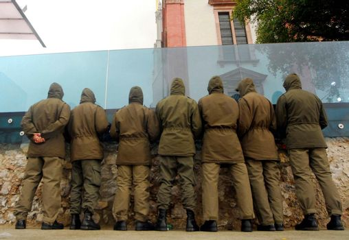 basic soldier, basic military service, soldier, soldiers, federal army, military - D35201220