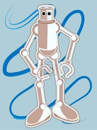 gelb blau vektor hintergrund illustration glanzvoll