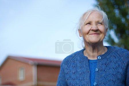 weiß, Hintergrund, auf, glücklich, Person, Lächelnd - B2393033