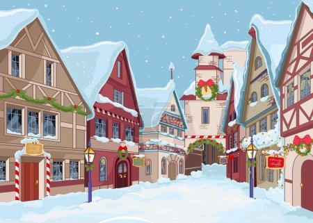 vektor hintergrund illustration himmel feier weihnachten