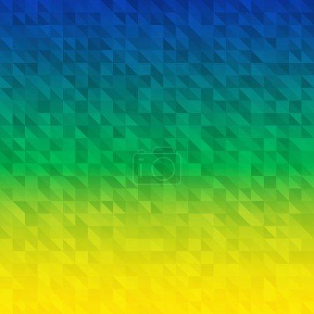 grün, Farbe, Dreieck, gelb, blau, Vektor - B47557193