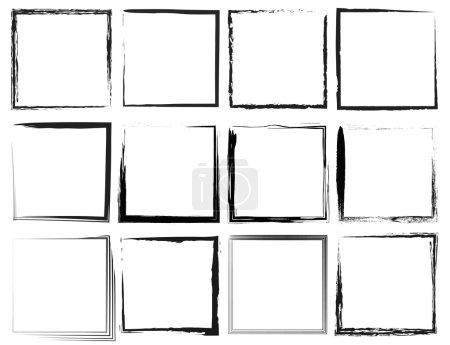 weiß, Vektor, Hintergrund, Design, eingestellt, isoliert - B34629269