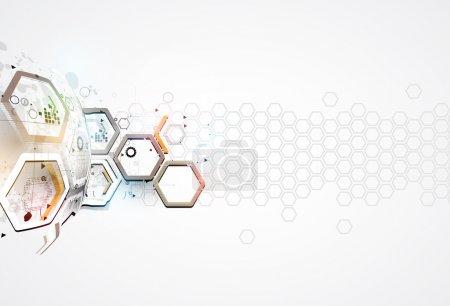 blau computer hintergrund element illustration design