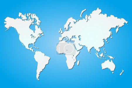Bild, weiß, Blau, Vektor, Computer, Hintergrund - B18975797