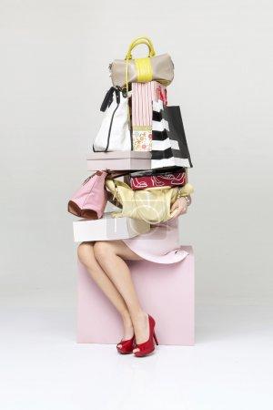 weiss einkaufen tasche luxus schoen verkauf