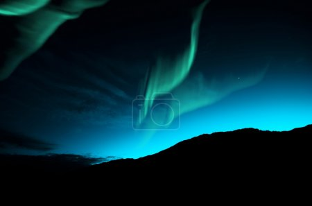 gruen blau himmel natur im freien