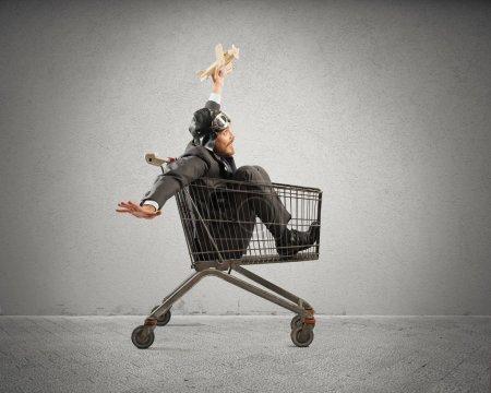 spiel spielen spass einkaufen gluecklich unternehmen