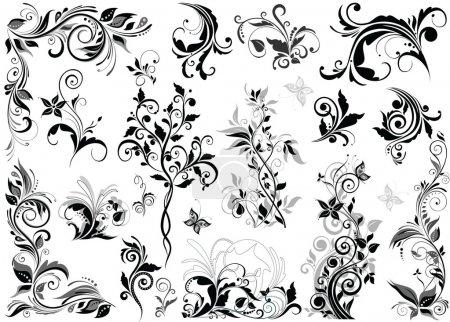 weiß, Vektor, Hintergrund, Grafik, Element, Illustration - B19980803