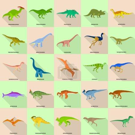 Farbe, Vektor, farbenfroh, Illustration, Design, eingestellt - B198131980