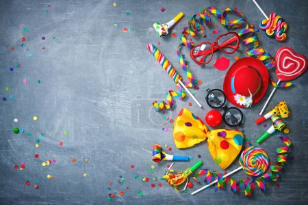 Spaß, Unterhaltung, Hintergrund, Geburtstag, Dekoration, Festlich - B242183434