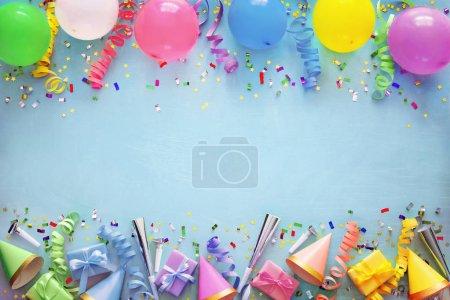 Unterhaltung, Hintergrund, farbenfroh, Geschenk, Geburtstag, Feier - B242182958
