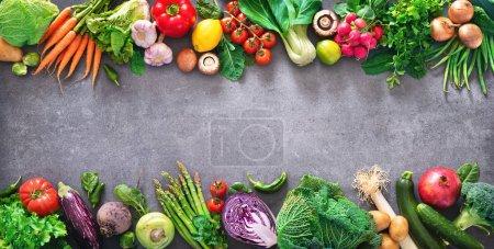 Tisch, grün, Hintergrund, Fülle, Markt, frisch - B249939122