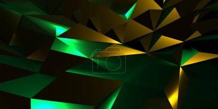 farbe dreieck hintergrund grafik illustration design