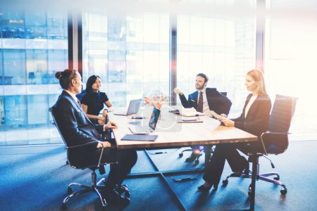Tisch, Konzern, Computer, Unternehmen, Finanzen, Menschen - B278609560