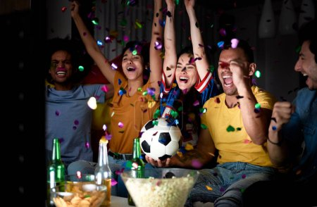 sport sieg ball horizontale fotografie feier