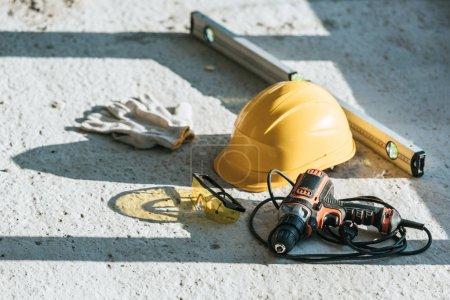 niemand, Schutz, Industrie, Handschuhe, Bau, städtisch - B203678316