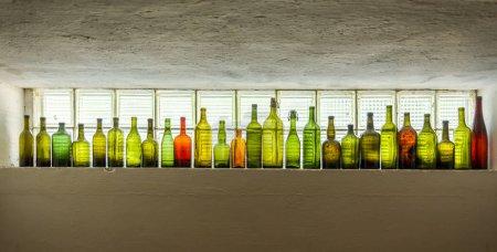 Bar, Trinken, Champagner, Gläser, Bootle, jedzie - B298373196