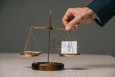 Tisch, Unternehmen, Person, Zeichen, Erwachsene, Menschen - B244432900