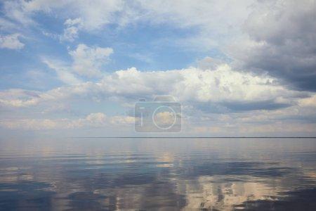 weiß, Blau, Hintergrund, niemand, Aussicht, Himmel - B270357734