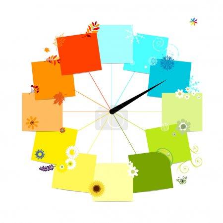 grün, Rot, Vektor, Hintergrund, Element, Illustration - B10765411