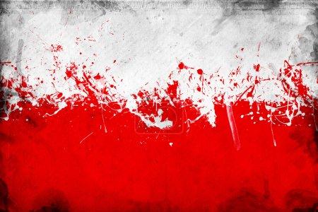 Bild, Rot, weiß, Blau, Hintergrund, Illustration - B10871665