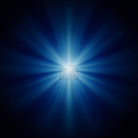 Farbe, Spaß, Licht, weiß, Blau, Vektor - B4478911