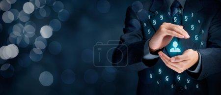 Hintergrund, Unternehmen, Person, Eine, Menschen, männlich - B108368960