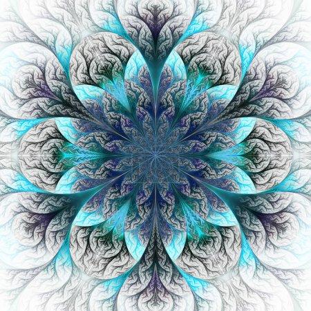 weiss blau hintergrund rendern grafik element