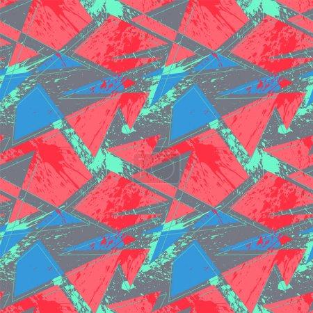 freizeit farbe dreieck vektor hintergrund bunt