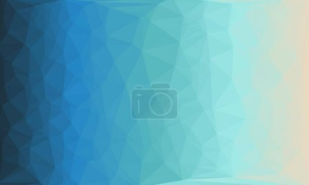 Dreieck, Blau, Hintergrund, Bunt, Grafik, Illustration - B461268716