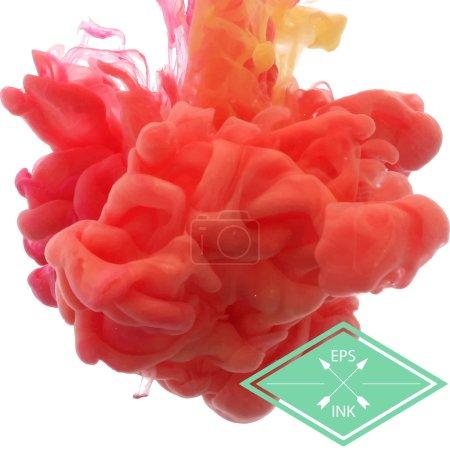 farbe rot weiss vektor bunt lebendig
