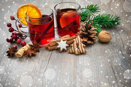 Tisch, Glas, Feier, Weihnachten, Dekoration, Veranstaltung - B59381033