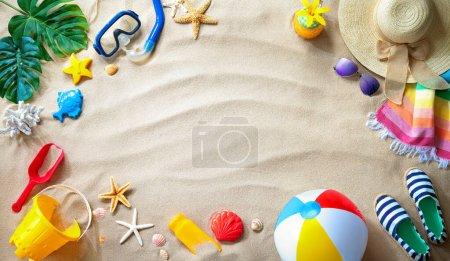 Freizeit, Hintergrund, Ball, Urlaub, Reise, Sommer - B481384128
