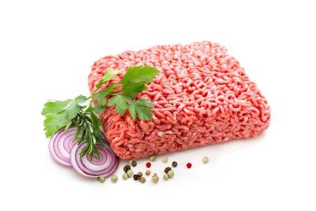 rot, weiß, Hintergrund, isoliert, Frisch, Gesund - B445101730