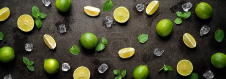 grün, Hintergrund, horizontale, Design, hell, Partei - B476478270
