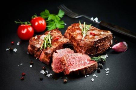 rot, Hintergrund, Nahaufnahme, Rindfleisch, Fleisch, Lebensmittel - B452183476