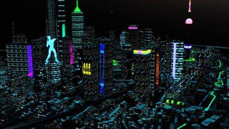 spiel blau hintergrund rendern lebendig abstrakt
