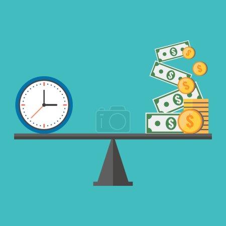 Farbe, Vektor, Hintergrund, Geld, Grafik, Element - B58900167