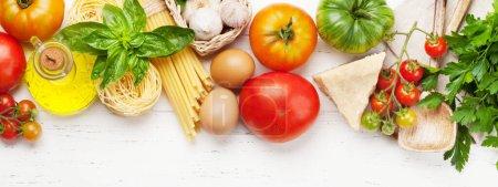 Tisch, Rot, Frisch, Kräuter, Gesund, Roh - B446454668